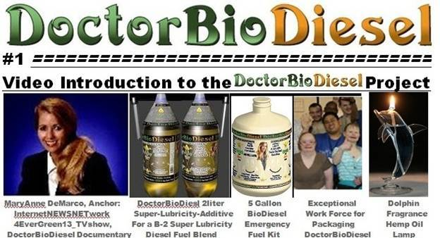 #1 Video introduction to the Dr.BioDiesel project