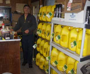 Existing stores handle biodiesel customers